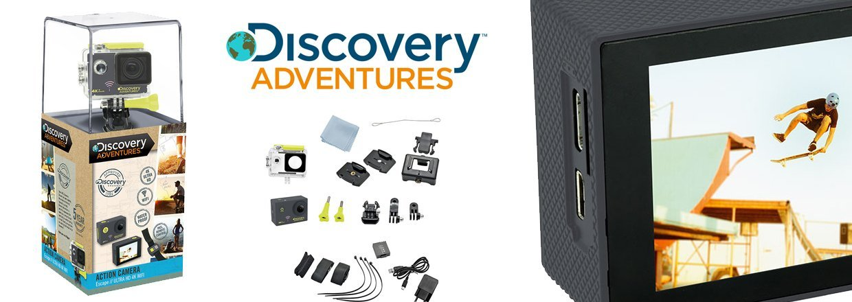 Discovery Adventures 4K-UHD Actionkamera