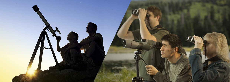Danmarks største udvalg i teleskoper, udsigtskikkerter, kikkerter og tilbehør...