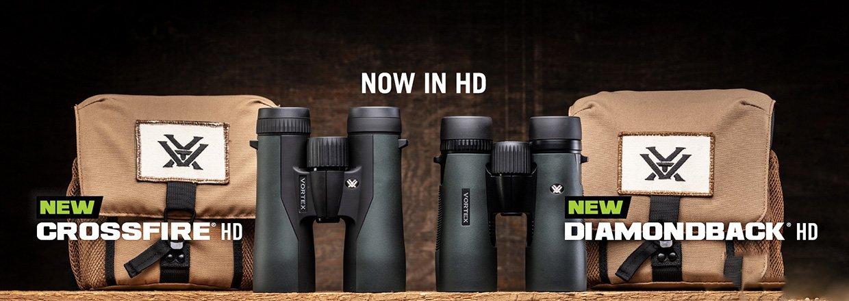 Se de nye Vortex Diamondback HD og Crossfire HD modeller...